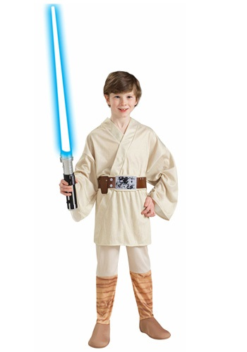 Kids Luke Skywalker Costume By: Rubies Costume Co. Inc for the 2015 Costume season.