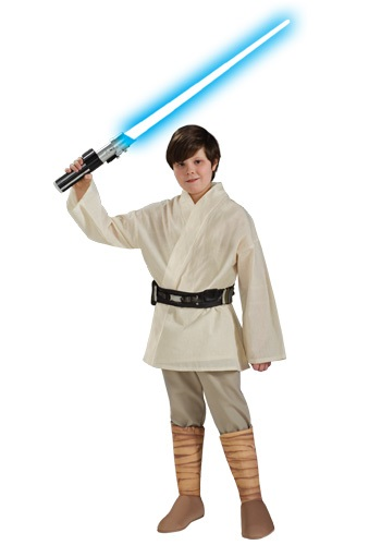 Deluxe Child Luke Skywalker Costume By: Rubies Costume Co. Inc for the 2015 Costume season.