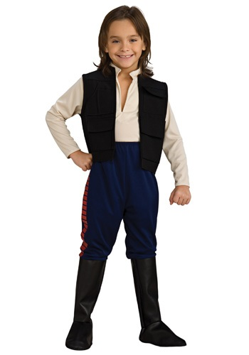 Deluxe Han Solo Kid's Costume