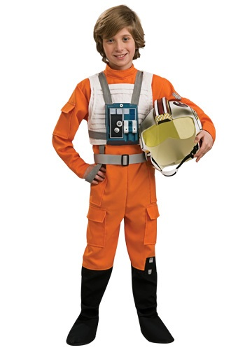 Child Star Wars Rebel Pilot Costume RU883164-L