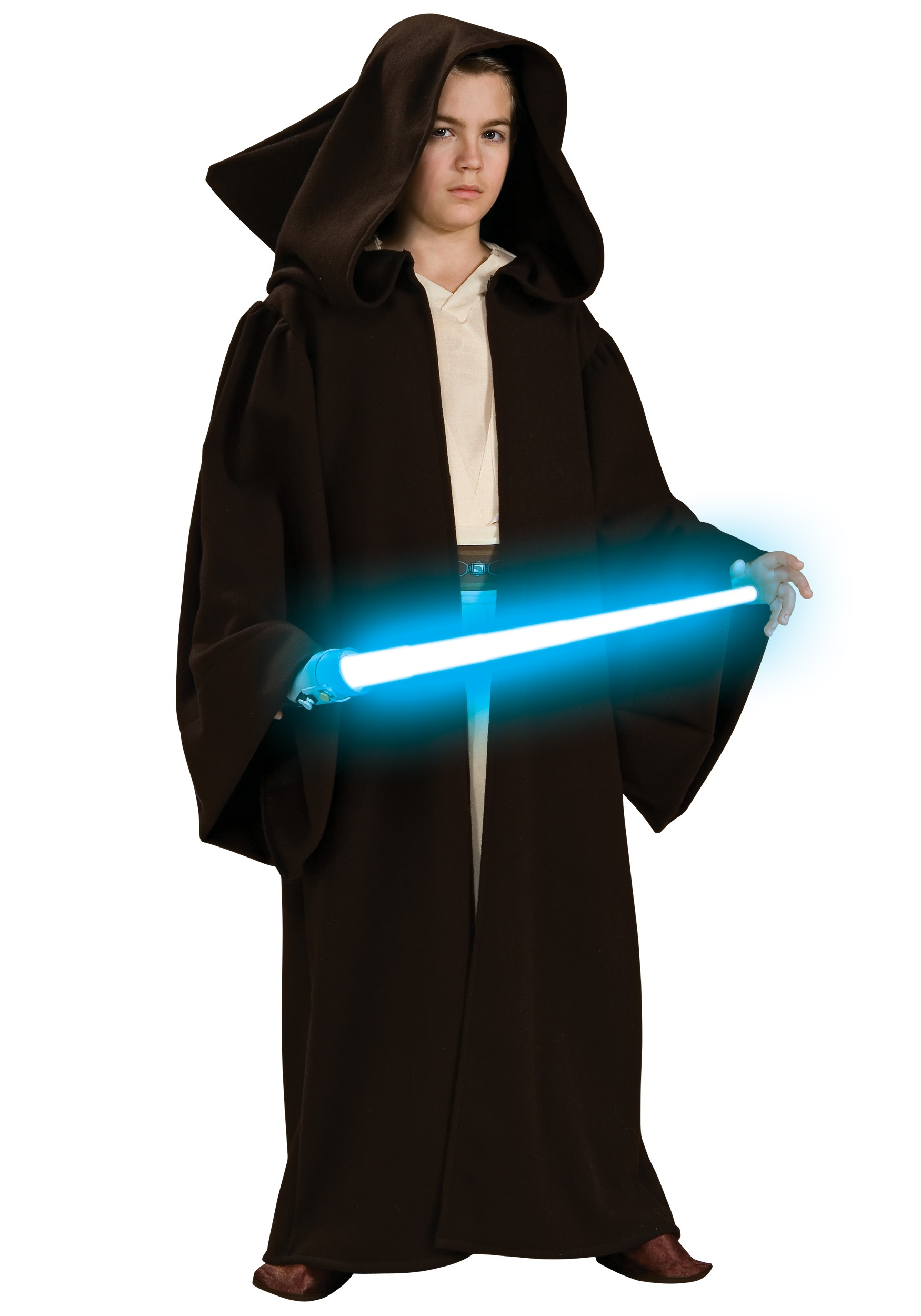 Child Super Deluxe Jedi Robe  sc 1 st  Halloween Costumes & Child Super Deluxe Jedi Robe Costume