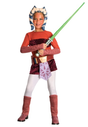 Child Deluxe Ahsoka Costume - Kids, Girls Clone Wars Costumes By: Rubies Costume Co. Inc for the 2015 Costume season.
