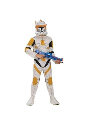Kids Clone Trooper Cody Costume RU883206-M