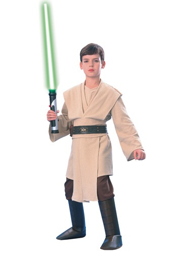 Super Deluxe Child Qui-Gon Jinn Costume By: Rubies Costume Co. Inc for the 2015 Costume season.