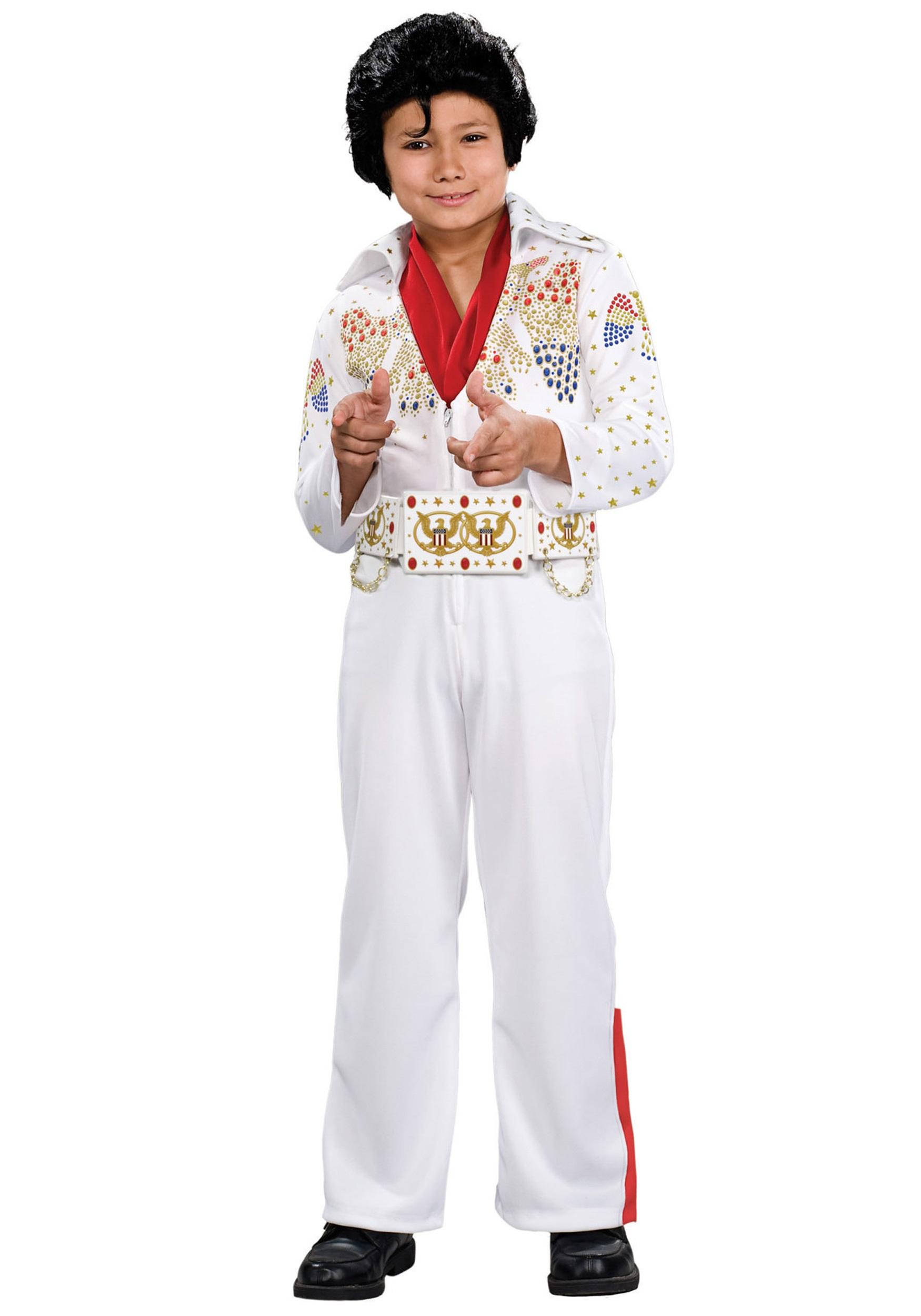 sc 1 st  Halloween Costumes & Deluxe Child Elvis Costume