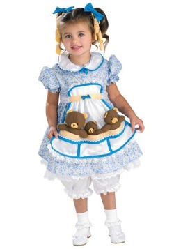 Kids Goldilocks Costume