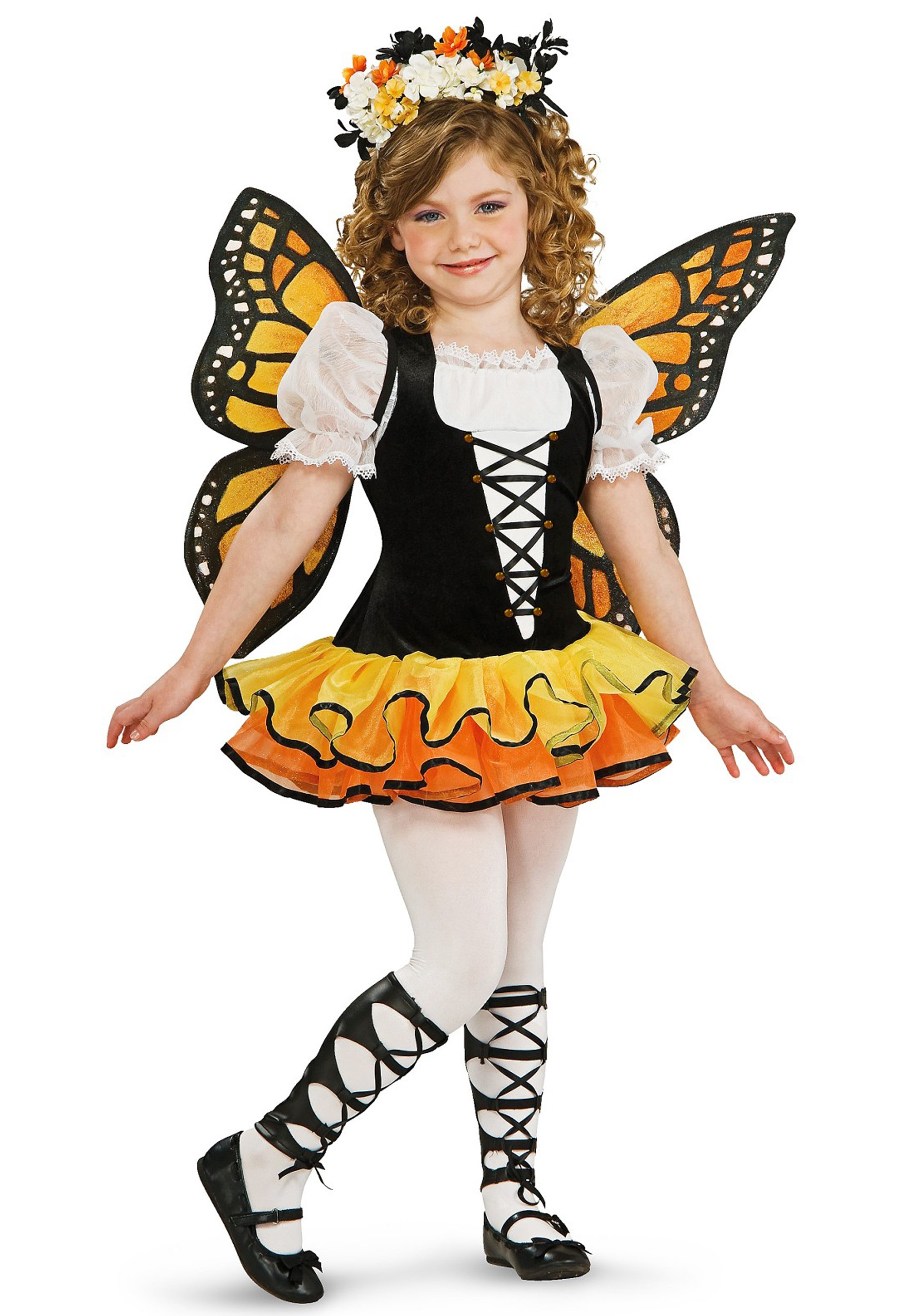 Beautiful Toddler Monarch Butterfly Costume