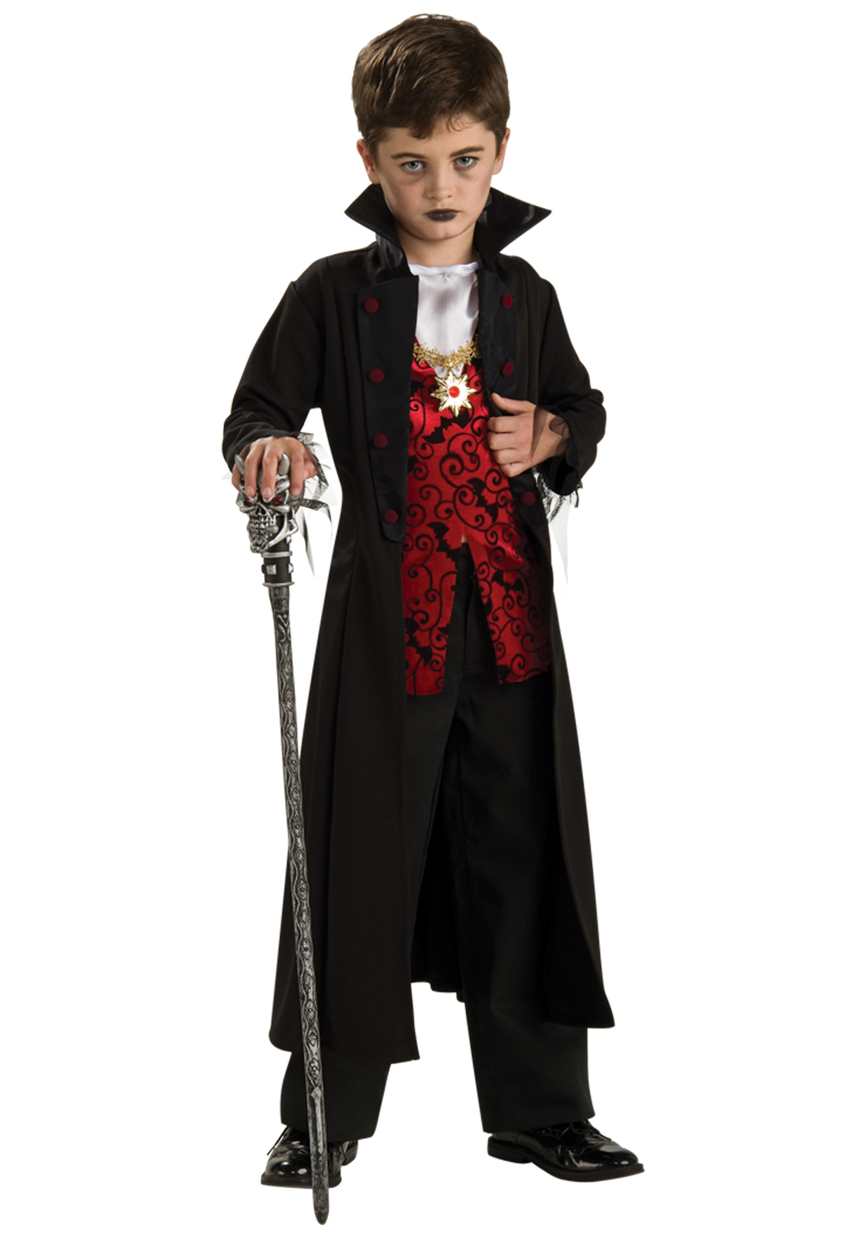 Halloween Vampire Costume Kids.Boys Royal Vampire Costume