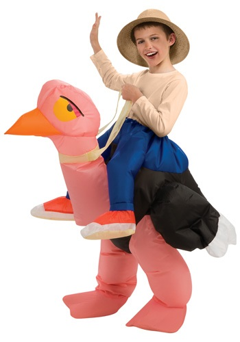 Child Inflatable Ostrich Costume By: Rubies Costume Co. Inc for the 2015 Costume season.