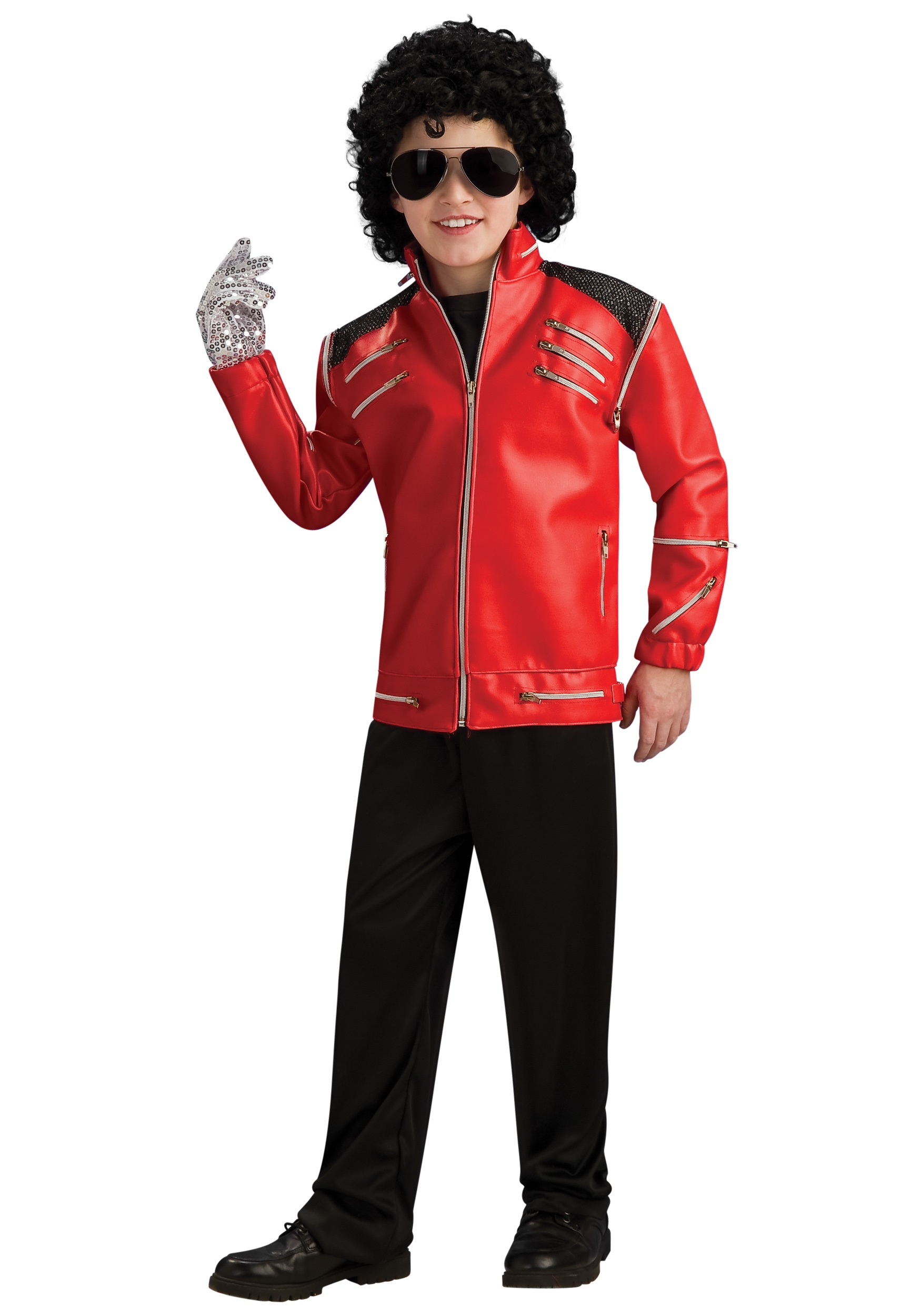 Child Beat It Michael Jackson Jacket Costume