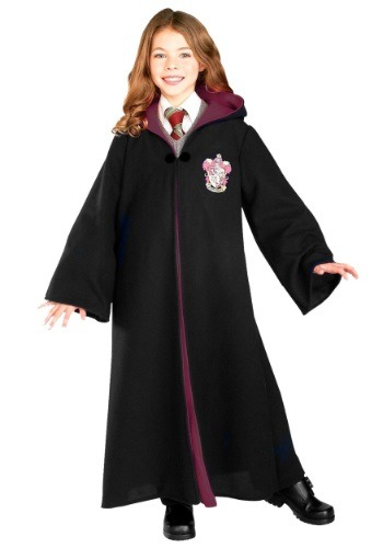 Click Here to buy Kids Deluxe Hermione Girls Costume from HalloweenCostumes, CDN Funds