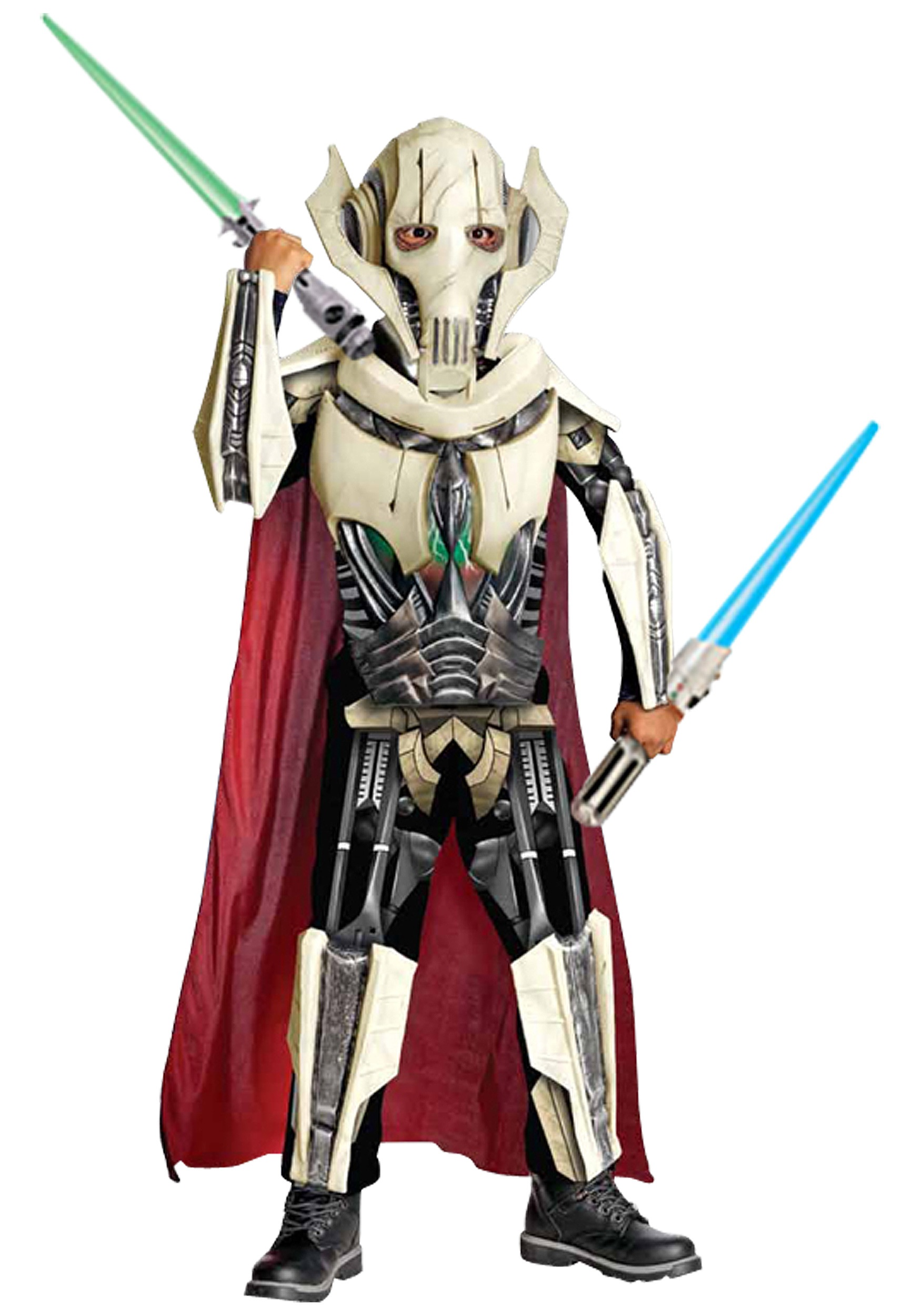 Child General Grievous Costume: www.halloweencostumes.com/child-general-grievous-costume.html