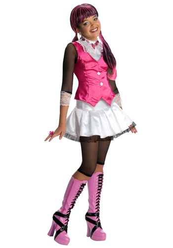 Click Here to buy Draculaura Costume from HalloweenCostumes, CDN Funds