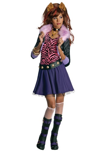 Click Here to buy Clawdeen Wolf Costume from HalloweenCostumes, CDN Funds