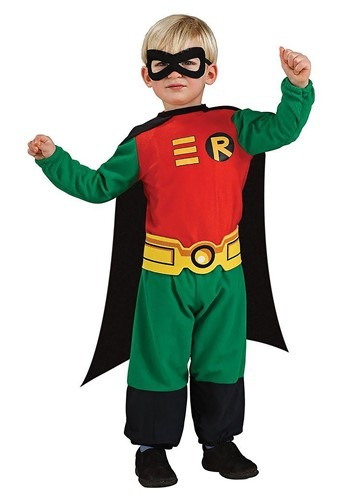 Toddler Robin Costume 1