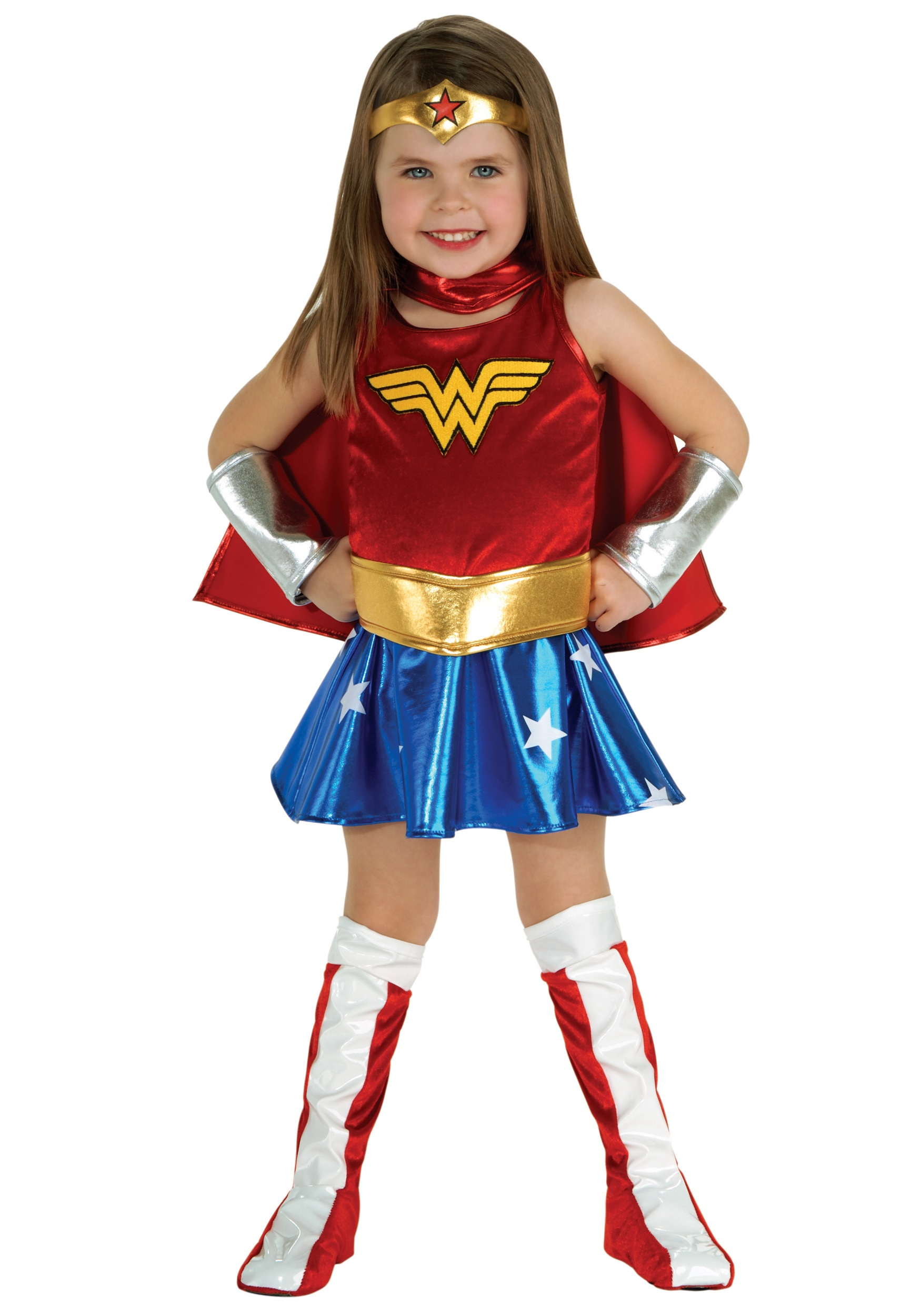 Help her suit up in a Supergirl costume for kids so she can play the part of her favorite superhero on the show! Although Supergirl is the most powerful teen on the planet, she's still learning how to control her amazing powers.