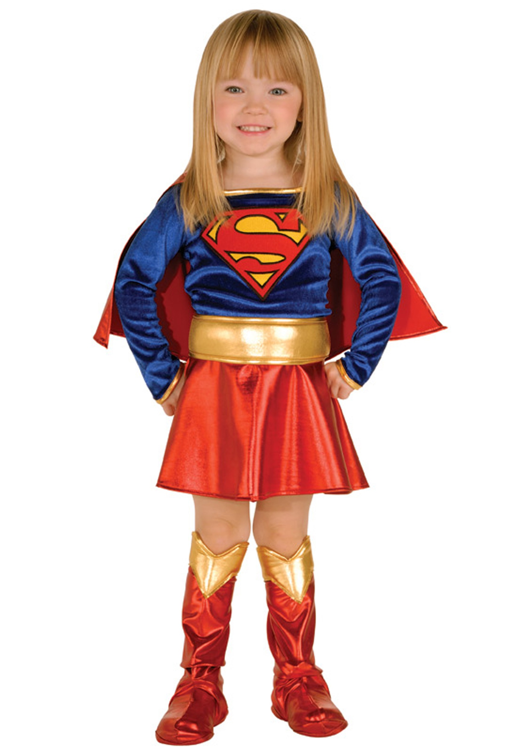 Supergirl Costume Toddler  sc 1 st  Halloween Costumes & Superwoman u0026 Supergirl Costumes - Adult Toddler Supergirl Costume