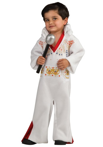 Click Here to buy Toddler Elvis Costume Romper from HalloweenCostumes, USA Funds & Shipping