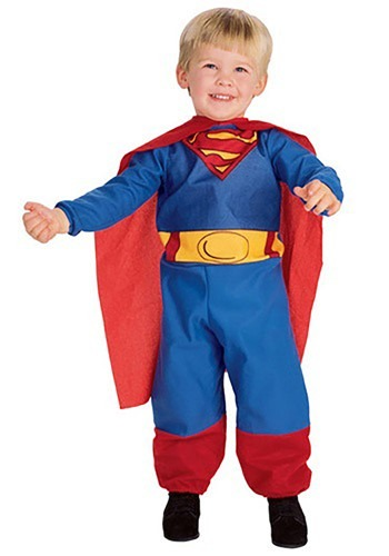 Infant / Toddler Superman Costume: www.halloweencostumes.com/infant-toddler-superman-costume.html?PCID=15