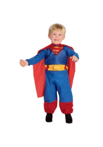 Click Here to buy Baby & Toddler Superman Costume from HalloweenCostumes, CDN Funds