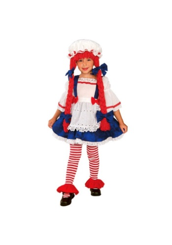 Click Here to buy Toddler Rag Doll Costume from HalloweenCostumes, USA Funds & Shipping