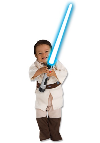 Click Here to buy Obi Wan Kenobi Toddler Costume from HalloweenCostumes, USA Funds & Shipping
