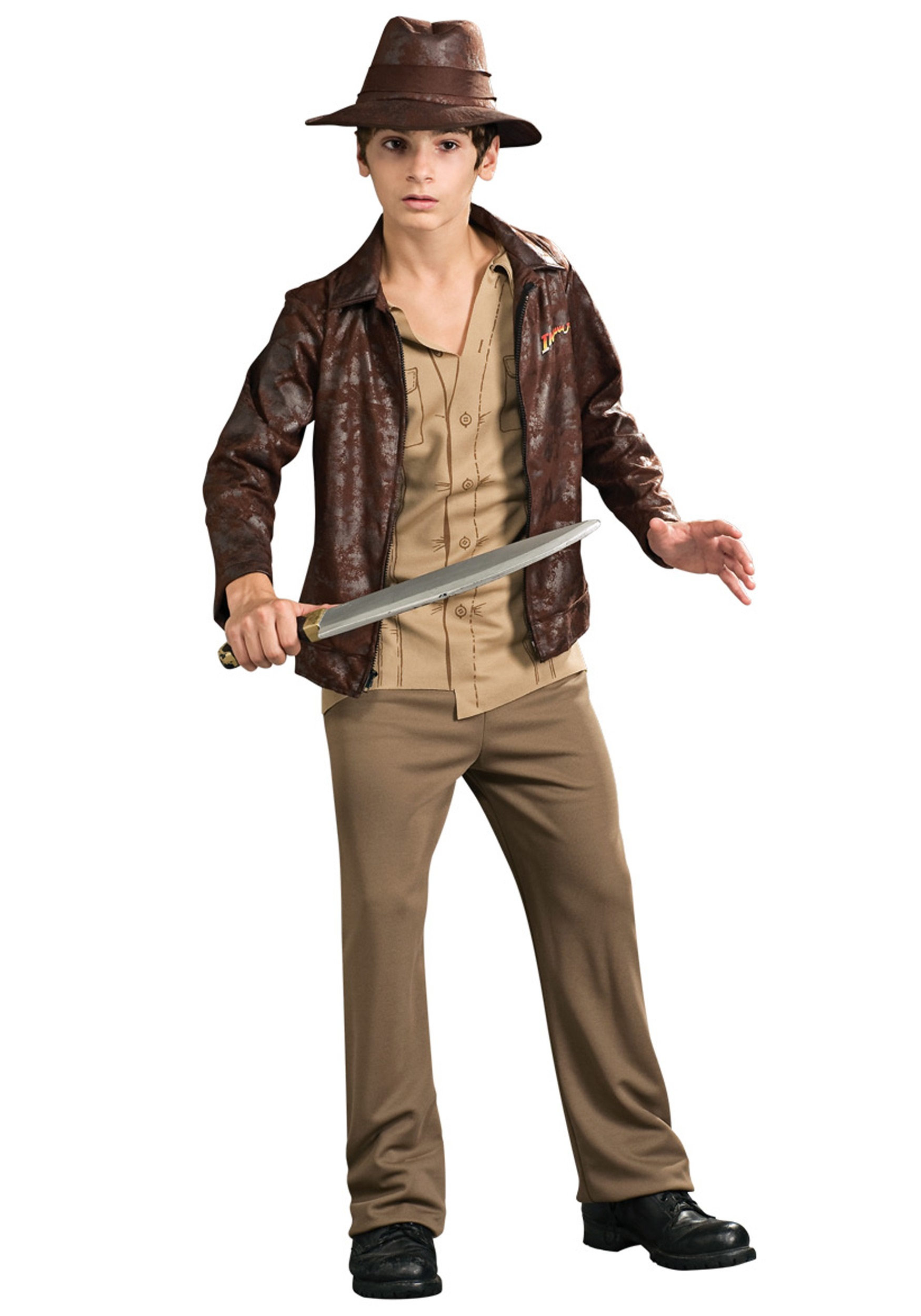 sc 1 st  Halloween Costumes & Teen Deluxe Indiana Jones Costume