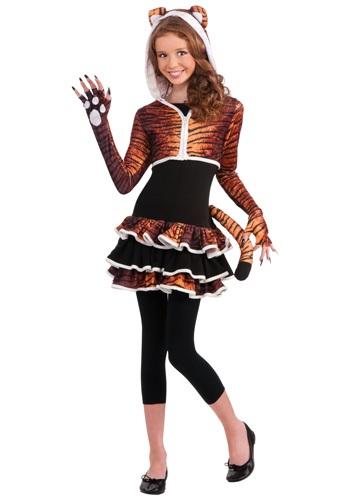 Click Here to buy Tween Tigress Costume from HalloweenCostumes, CDN Funds