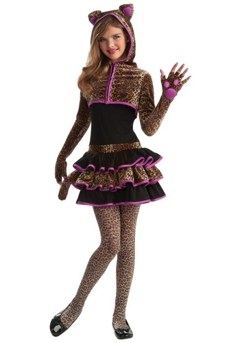 Click Here to buy Tween Leopard Costume from HalloweenCostumes, USA Funds & Shipping