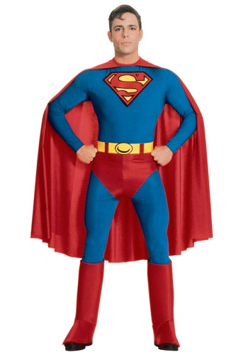 Click Here to buy Adult Superman Costume from HalloweenCostumes, CDN Funds