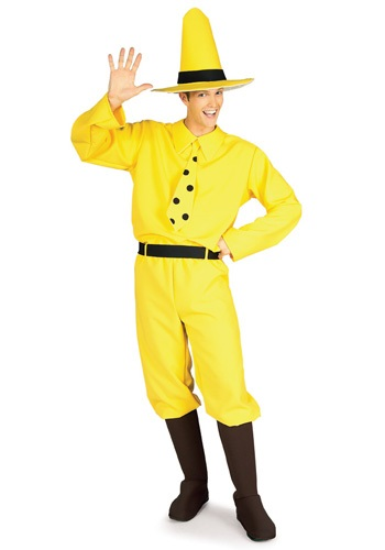 Click Here to buy Man in the Yellow Hat Costume from HalloweenCostumes, USA Funds & Shipping