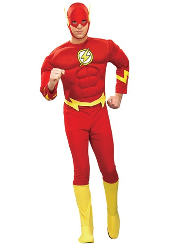 Adult Flash Costume - Justice League