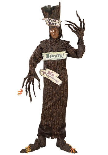 Click Here to buy Adult Scary Tree Costume from HalloweenCostumes, USA Funds & Shipping