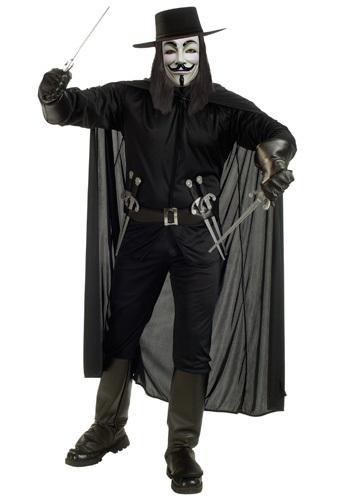 Adult V for Vendetta Costume RU888238