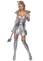 Sexy Tin Woman Costume
