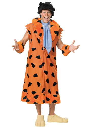 Click Here to buy Deluxe Adult Fred Flintstone Costume from HalloweenCostumes, CDN Funds
