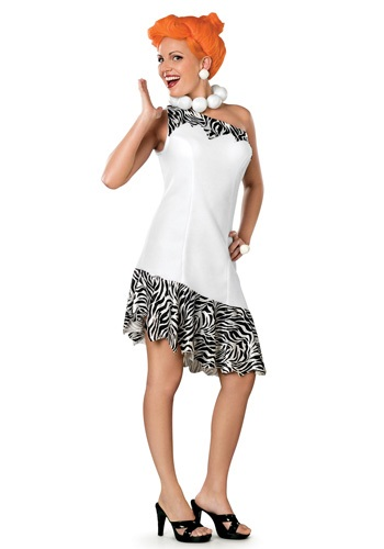 Click Here to buy Deluxe Adult Wilma Flintstone Costume from HalloweenCostumes, CDN Funds