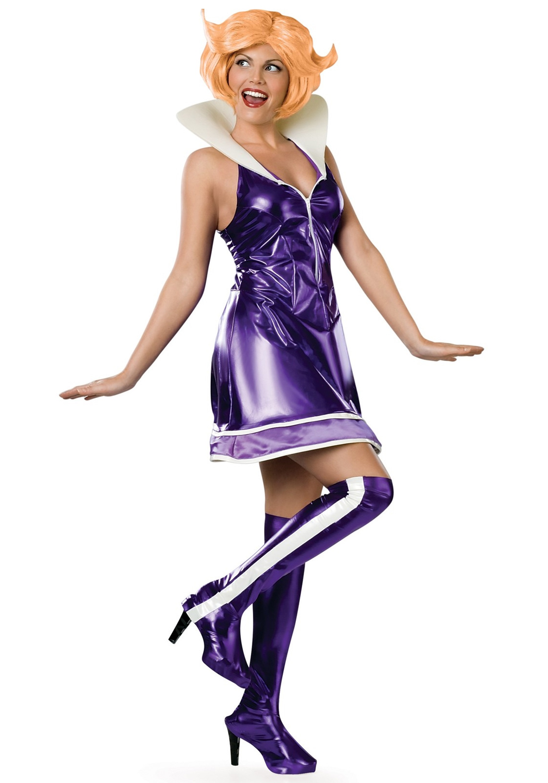 Cartoon Characters Outfits : Adult jane jetson costume