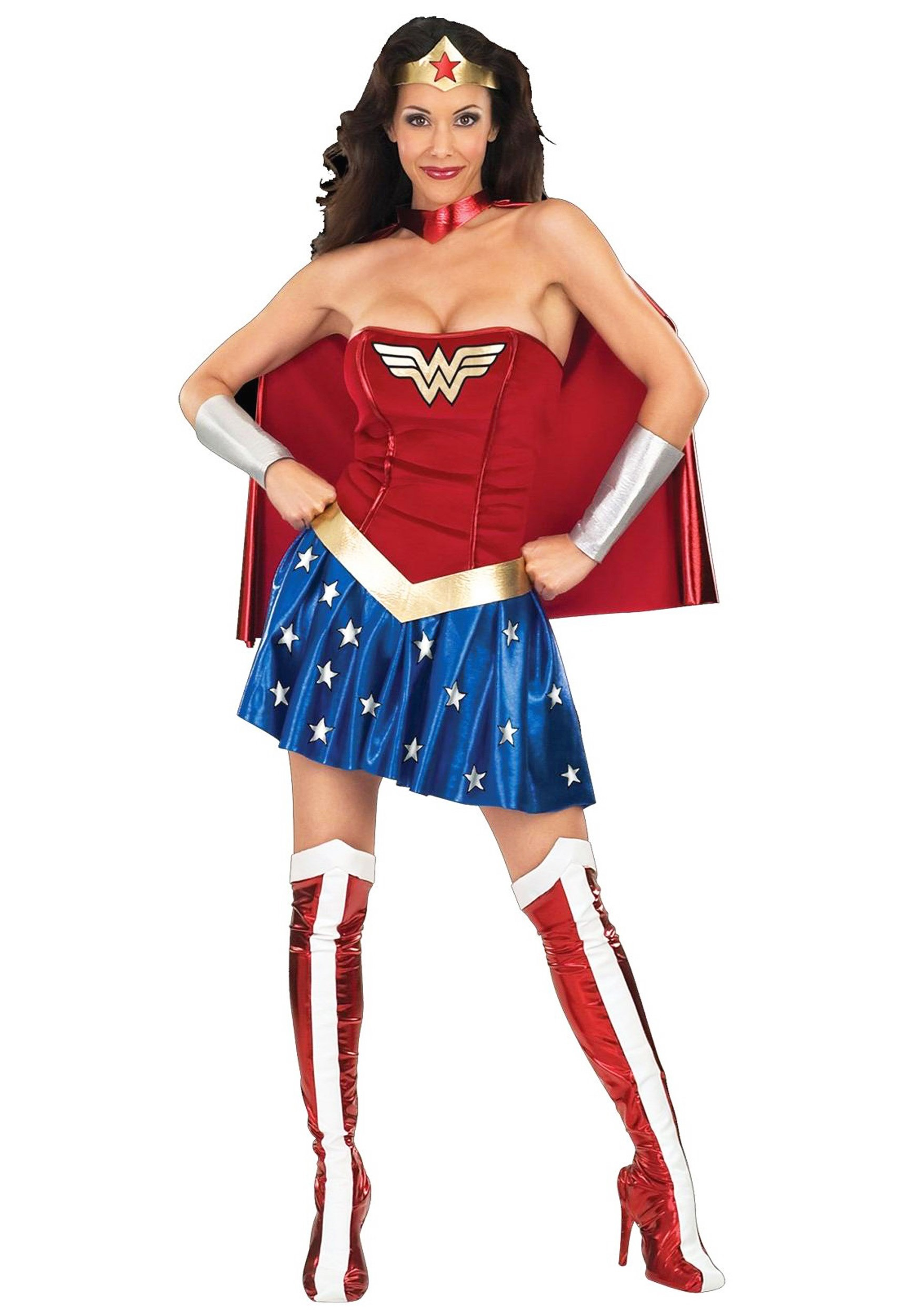 adult wonder woman costume - Partyland Halloween Costumes