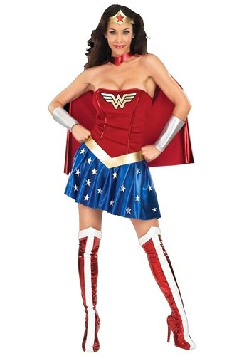 Adult Wonder Woman Costume for Women