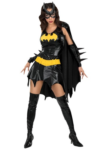 Click Here to buy Sexy Batgirl Costume from HalloweenCostumes, USA Funds & Shipping