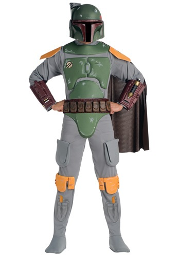 Deluxe Adult Boba Fett Costume By: Rubies Costume Co. Inc for the 2015 Costume season.