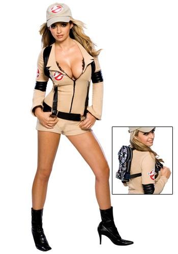 Women's Sexy Ghostfighter Costume