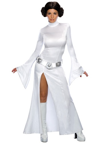 Princess Leia Adult White Costume Dress