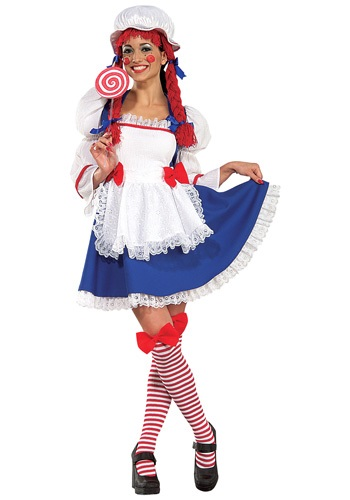 Adult Cheerful Rag Doll Costume By: Rubies Costume Co. Inc for the 2015 Costume season.