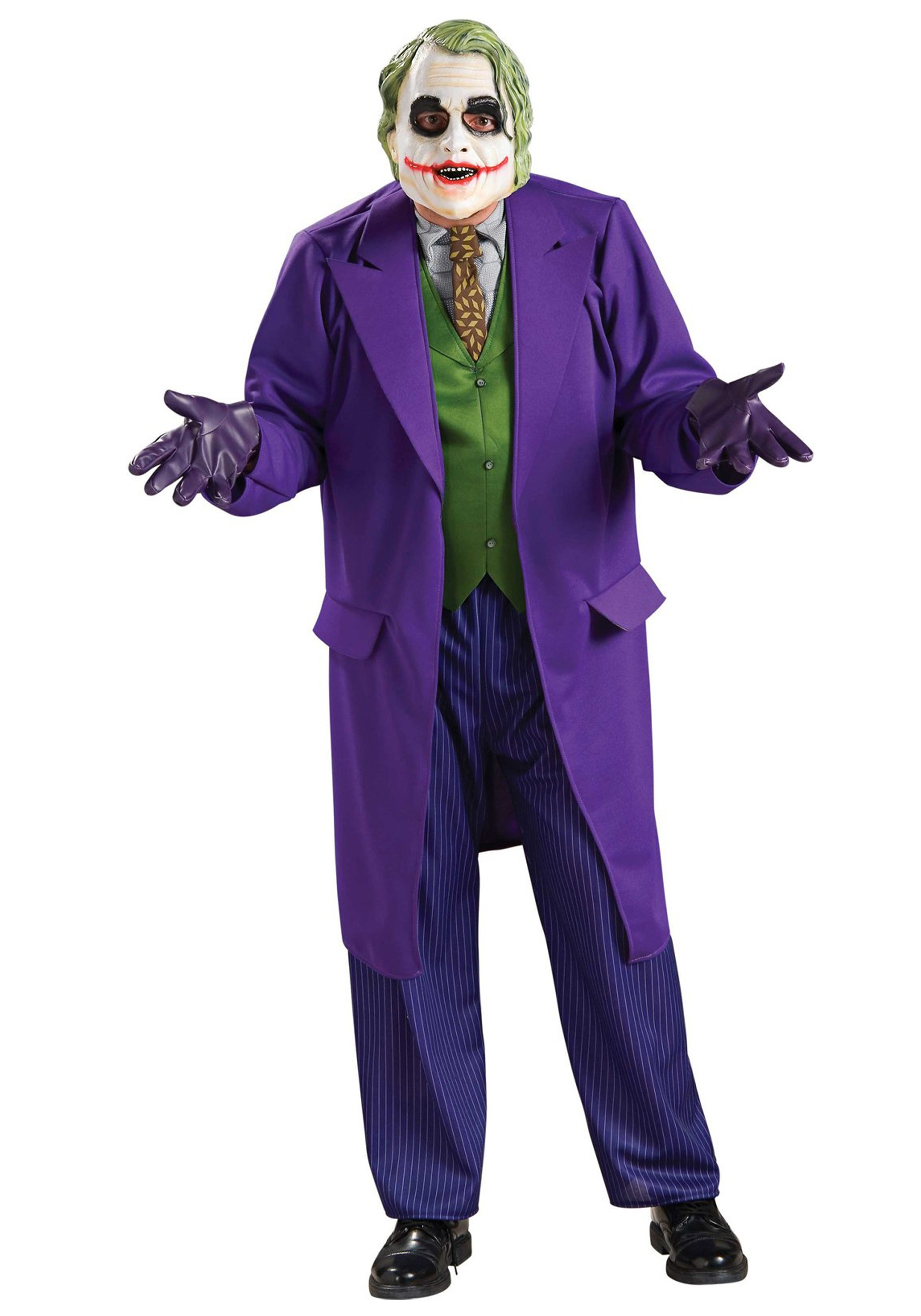 Adult Joker Costume  sc 1 st  Halloween Costumes & Adult Batman Costumes u0026 Dark Knight Suits - HalloweenCostumes.com