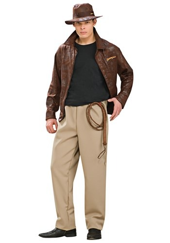 Adult Deluxe Indiana Jones Costume By: Rubies Costume Co. Inc for the 2015 Costume season.