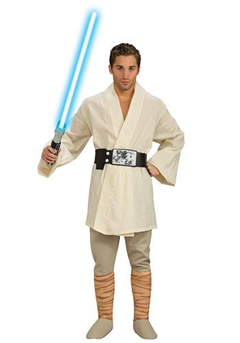 Adult Deluxe Luke Skywalker Costume By: Rubies Costume Co. Inc for the 2015 Costume season.