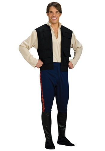 Adult Deluxe Han Solo Costume By: Rubies Costume Co. Inc for the 2015 Costume season.