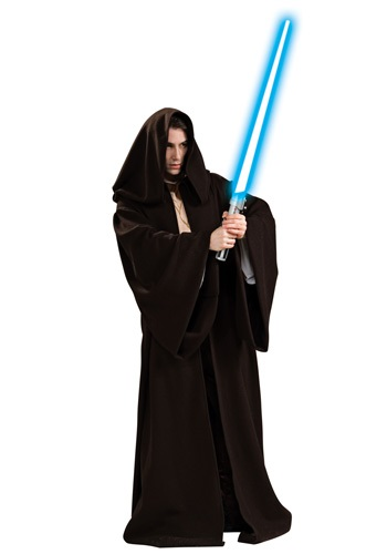 Adult Authentic Jedi Robe By: Rubies Costume Co. Inc for the 2015 Costume season.